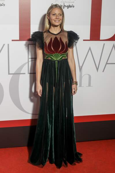 Une belle plante à Madrid : l'actrice Gwyneth Paltrow !