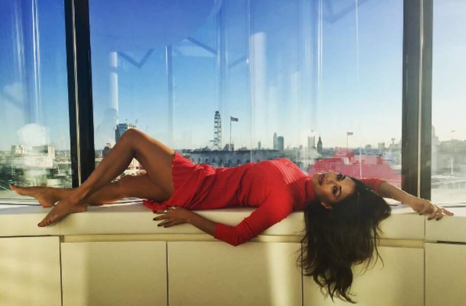 Nicole Scherzinger était très à l'aise à Londres...