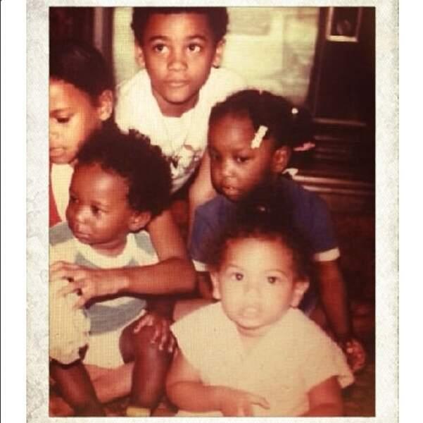 Encore une photo nostalgie. Et cette fois-ci, il s'agit de Beyoncé !