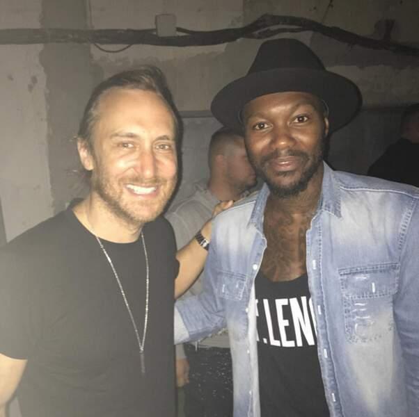 Sans transition, Djibril Cissé est allé voir David Guetta jouer en Grèce.