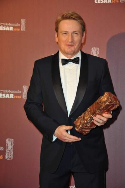 C'est Benoît Magimel qui a été sacré Meilleur acteur dans un second rôle pour La Tête haute