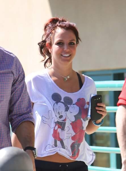 Britney Spears n'a pas pu faire un choix : elle les aime tous les deux.