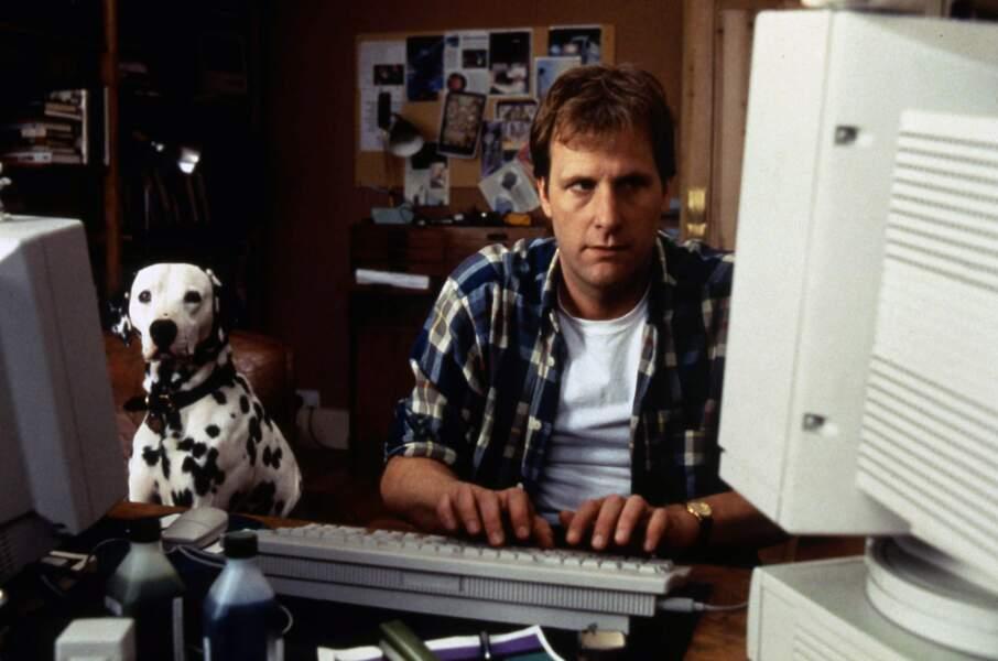 CENT UN DALMATIENS (1996) : Jeff Daniels s'éclipse devant son chien Pongo
