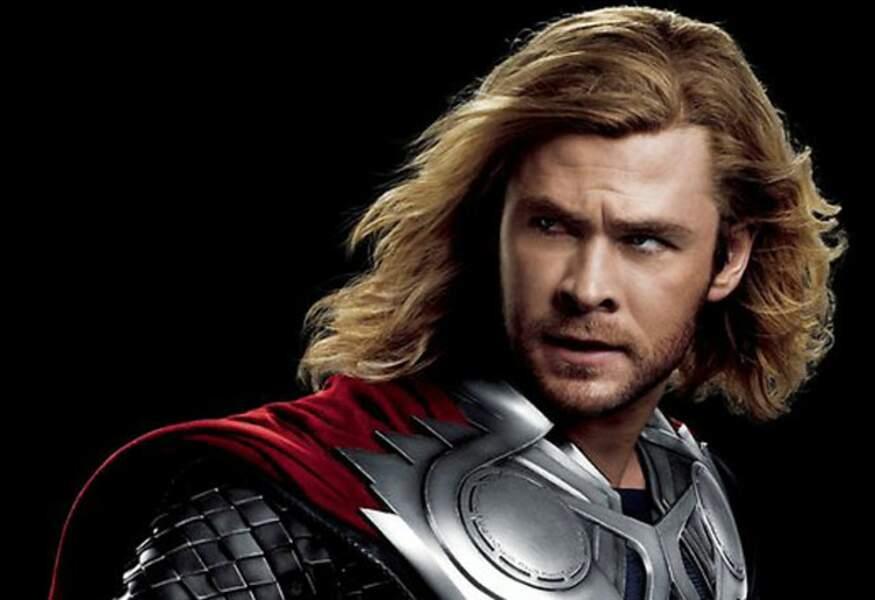 3. Chris Hemsworth, le beau Thor des Studios Marvel et le courageux chasseur de Blanche-Neige