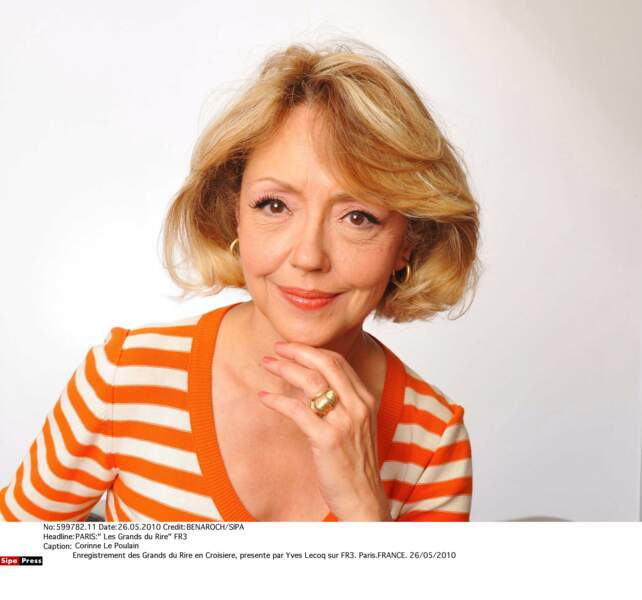 La comédienne Corinne Le Poulain (Plus Belle La Vie) est morte à 66 ans.