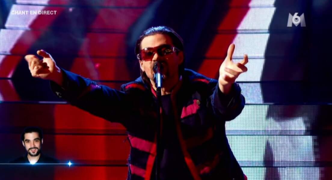 """""""With or without you"""" et Bono sont dans la place mes amis ! Du U2 dans les studios de la Plaine St Denis !"""