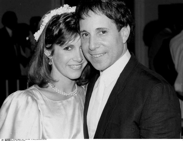 1982 : mariage avec Paul Simon