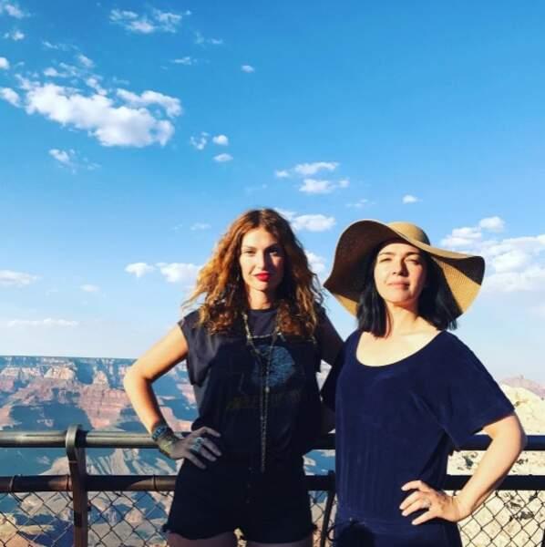 Les Brigitte ont découvert le Grand Canyon.