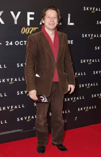 Mathieu Amalric a également tenu à fouler le tapis rouge