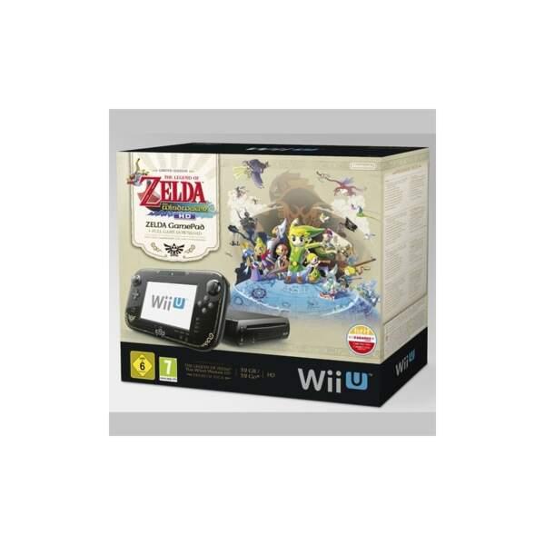 Cadeau parfait pour les ados : la Wii U avec le jeu culte Zelda !