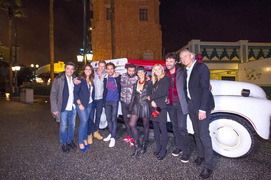 Cyril Hanouna et sa bande arrivent à Disneyland Paris pour fêter les 41 ans du boss de Touche pas à mon poste !
