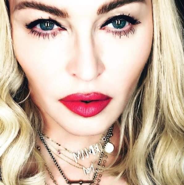 Madonna et son plan (trop) rapproché