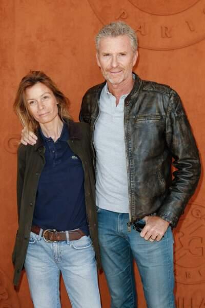 Denis Brogniart et sa femme Hortense se sont rencontrés sur un plateau de LCI