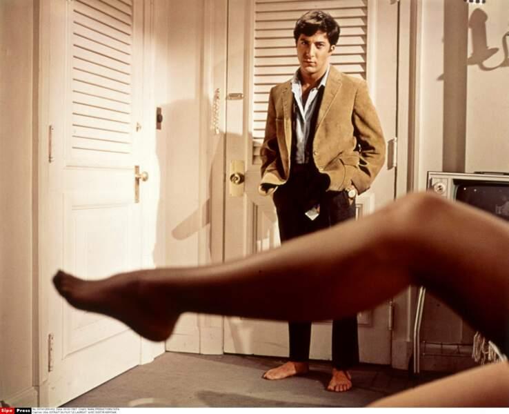Avec une Cougar (bis) : Dustin Hoffman et Anne Bancroft dans Le lauréat (1967)