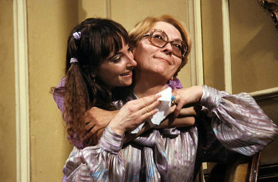 En 1981, elle avait joué dans la pièce de théâtre La claque au côté de Claude Gensac