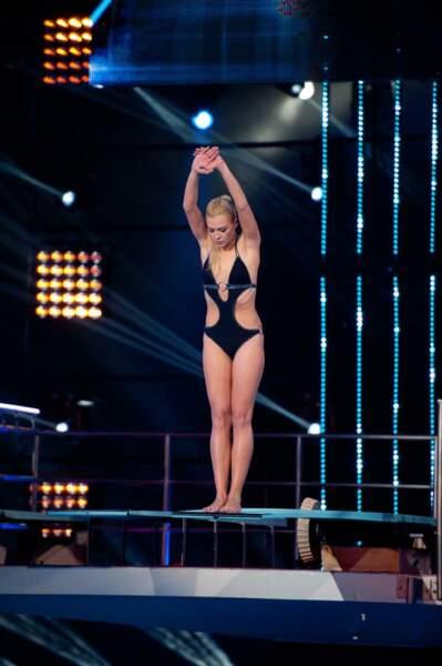La danseuse a plongé du 3 m. Résulat : 48/80 !