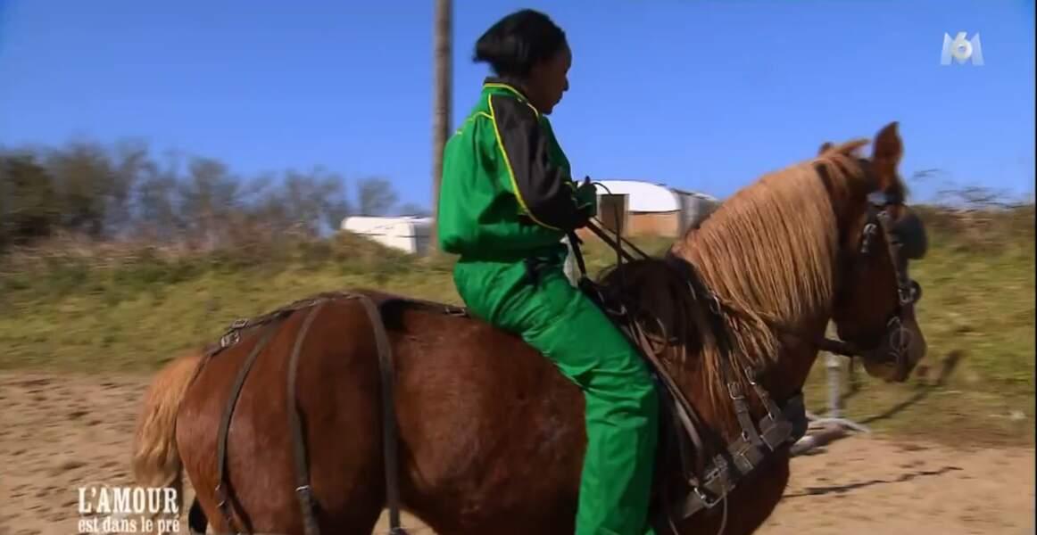Céline Dion fait du cheval, on l'adore !
