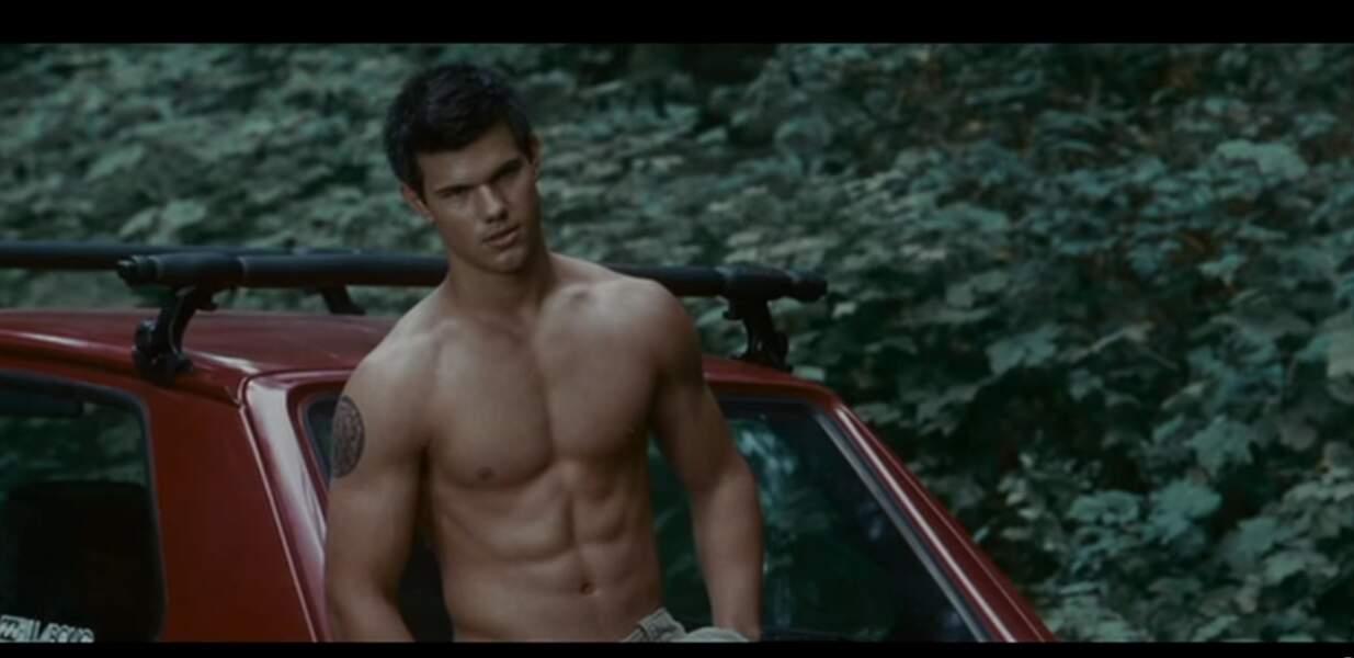 Taylor Lautner dans la saga Twilight