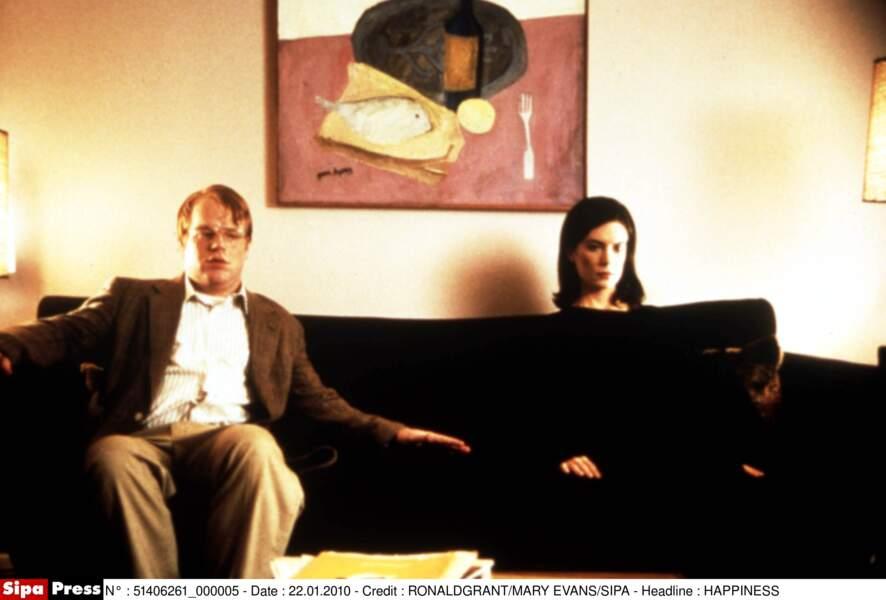 Avec Lara Flynn Boyle dans Happiness (1998)
