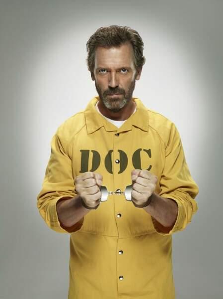 Dans la huitième saison, Gregory House va passer par la case prison, d'où la promo