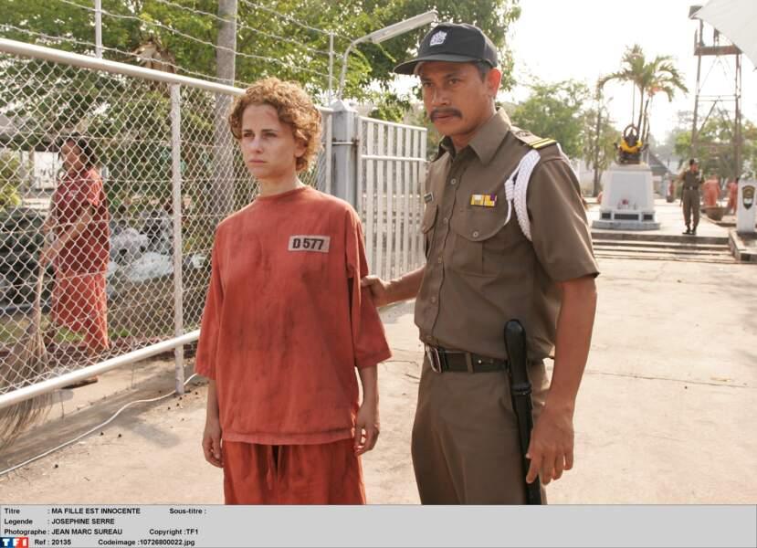 En 2007, Joséphine Serre joue dans le téléfilm Ma fille est innocente