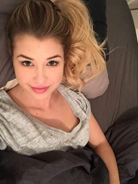Selfie encore au lit