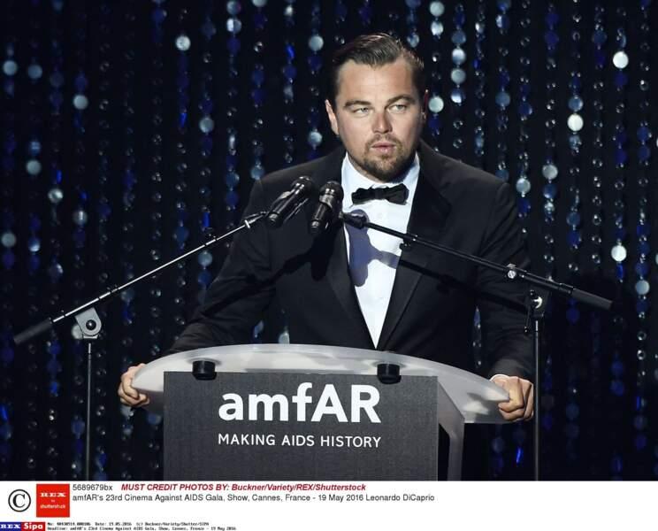 Le roi Leo était présent et a tenu un discours lors de cette soirée de gala