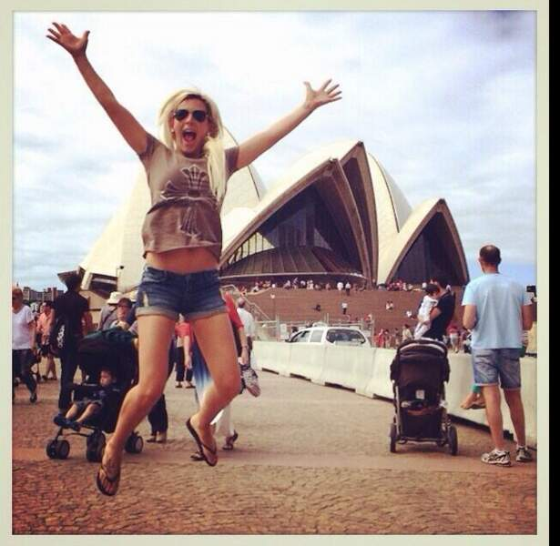 Amélie, elle, s'éclate en Australie