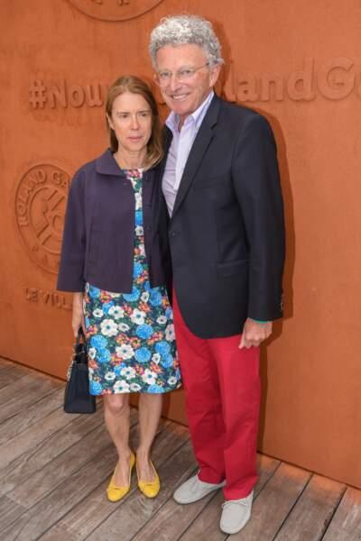 Nelson Monfort et son épouse Dominique