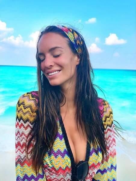 La couleur de l'eau donne le sourire !