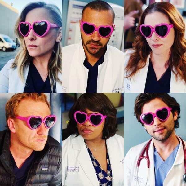 Les acteurs de la série voient la vie en rose…
