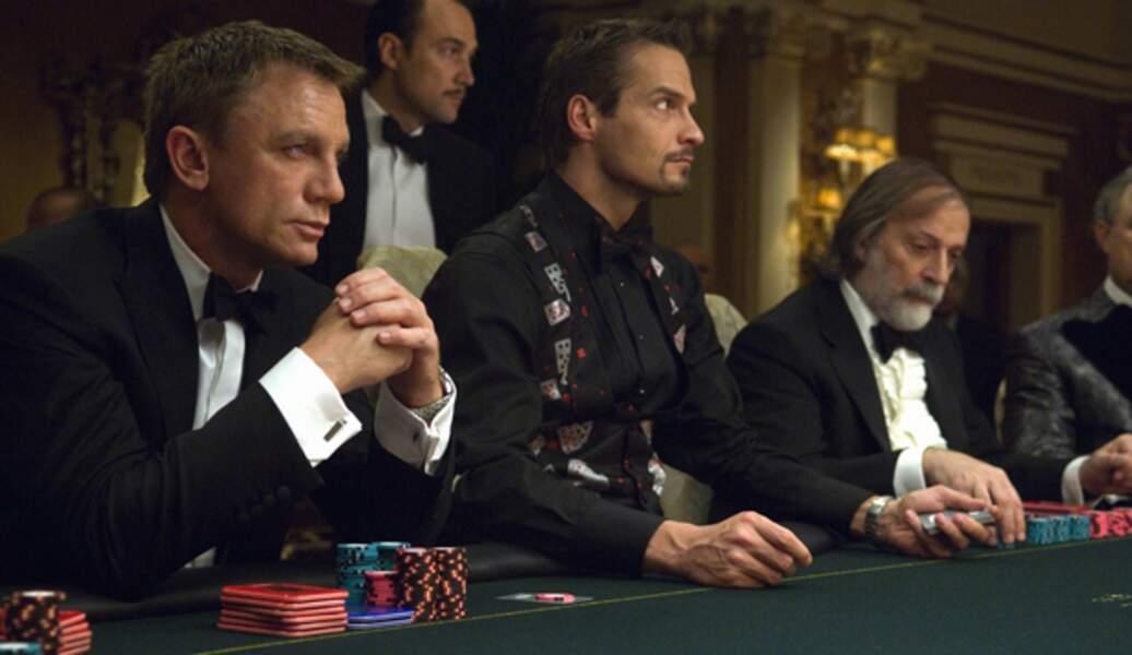 Daniel Craig joue dans Casino Royale