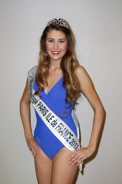 Wendy Gaenier, Miss Prestige Paris Ile-de-France 2013