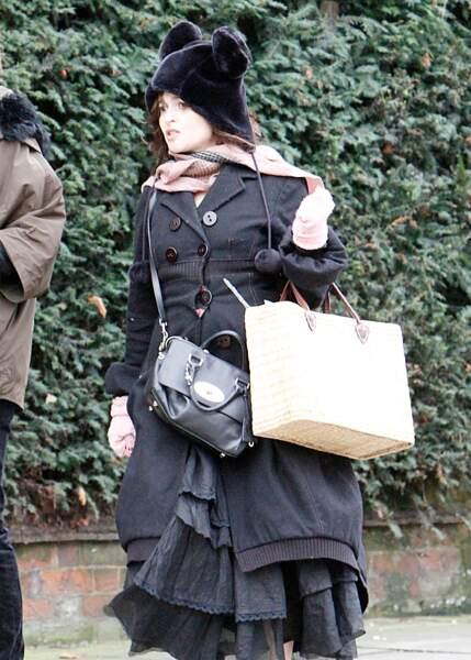 Celles de l'actrice Helena Bonham Carter ont l'air de lui tenir bien chaud pour l'hiver...