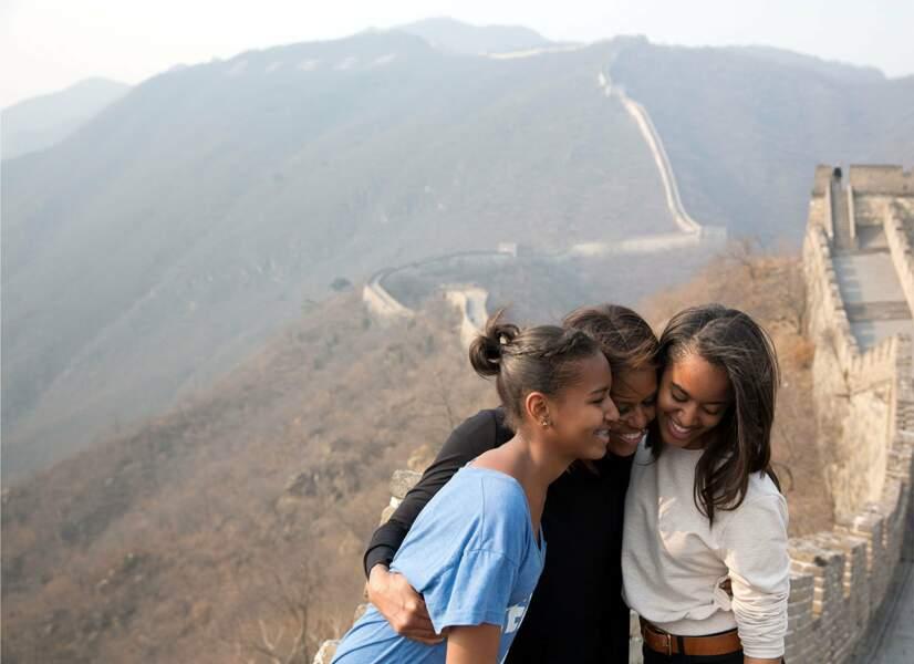 Mars 2014 : petite virée en famille sur la Grande Muraille de Chine