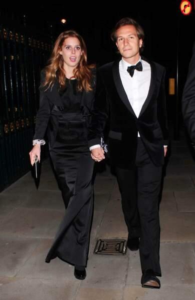 La Princesse Beatrice d'York et Dave Clark, en couple depuis 2006.