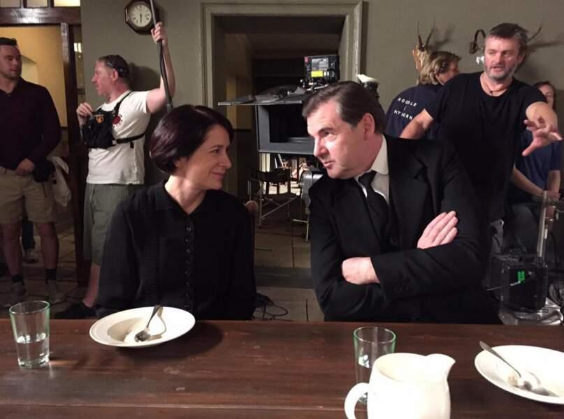 Les domestiques de Downton Abbey restent rarement les bras croisés