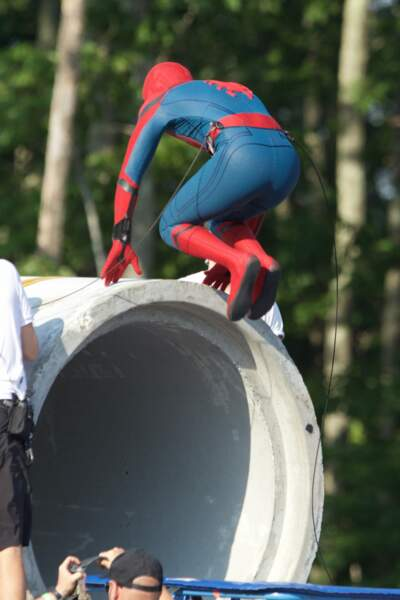 Et hop ! Spider-Man, expert en saute-moutons !