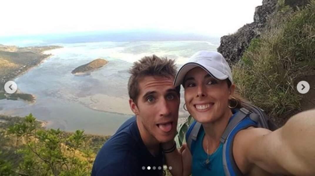 Vacances en amoureux à l'île Maurice pour Alizé Cornet