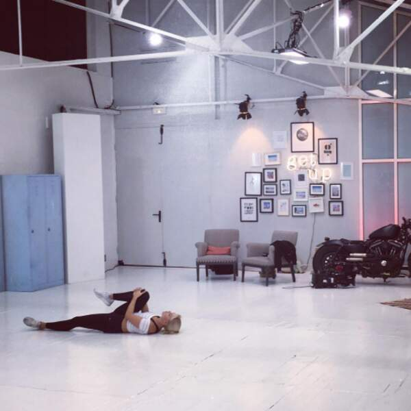 Olivier Minne prend en photo les étirements de Katrina