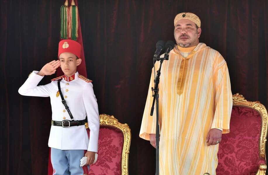 Maroc : auprès de papa Mohammed VI, il faut garder son sérieux