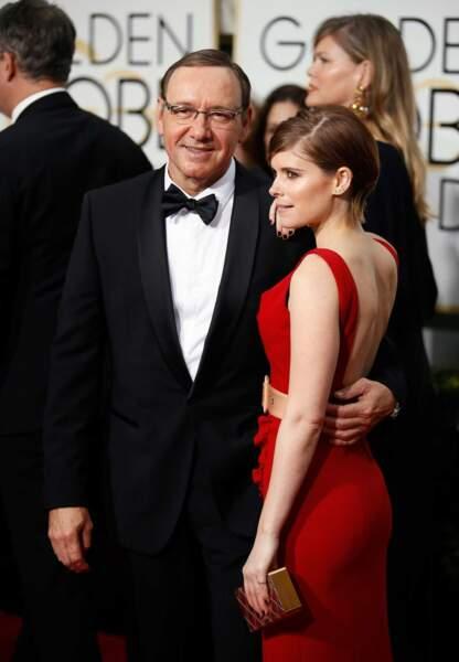 Kevin Spacey et Kate Mara, réunis comme dans House of Cards