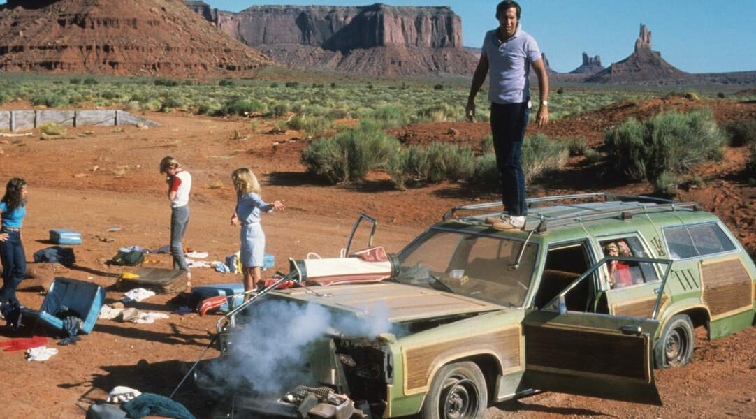 Bonjour les Vacances (1984), délire-catastrophe avec Chevy Chase.