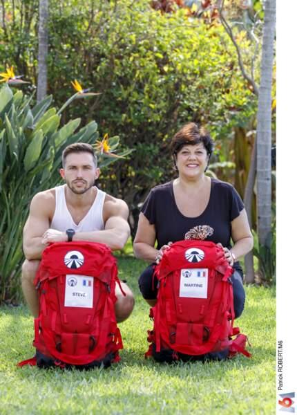 Steve et Martine, le coach sportif et son élève