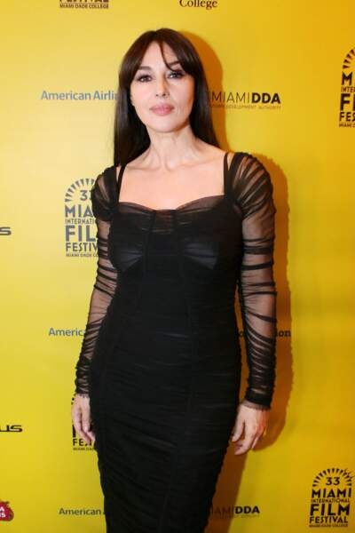 La petite Deva, fille de Vincent Cassel, est née quand Monica Belluci avait 40 ans. Sa soeur Léonie a 6 ans.