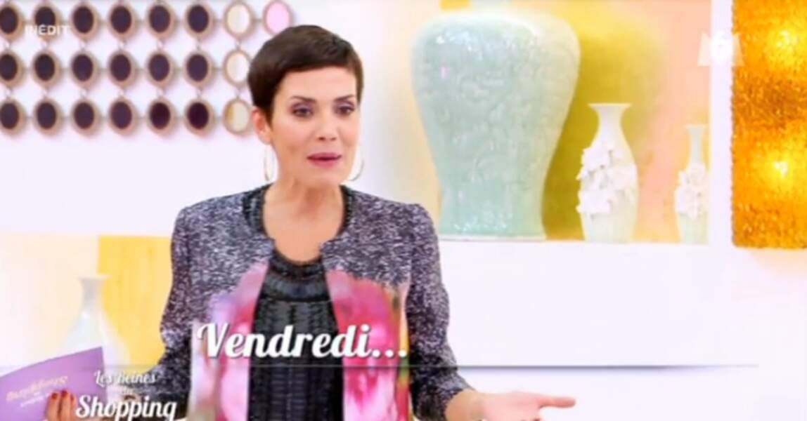 On ne pensait pas dire ça un jour : mais là, on n'est pas très fan de la tenue de Cristina Cordula