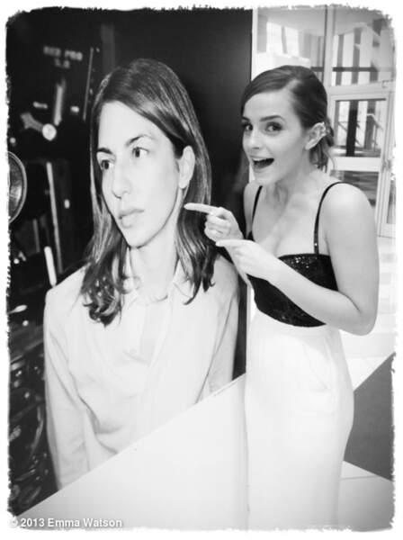 C'est bon, les talons sont mis et Emma peut se balader !