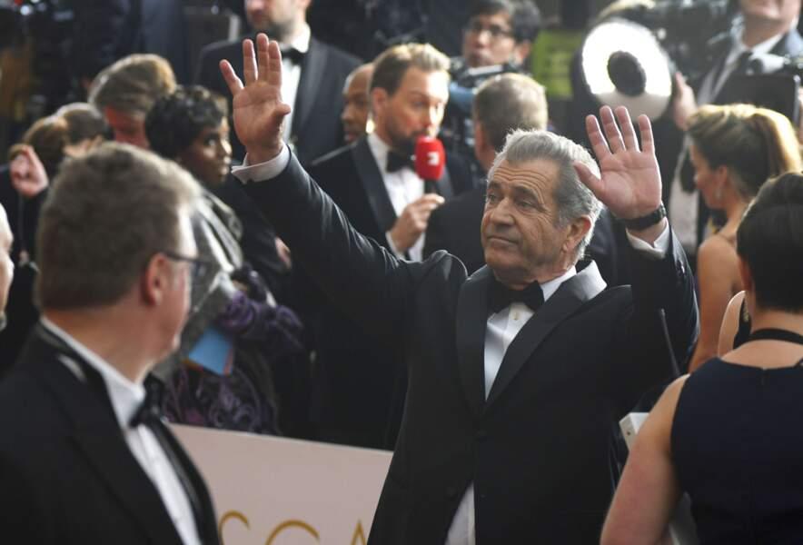 Mel Gibson, proie des photographes