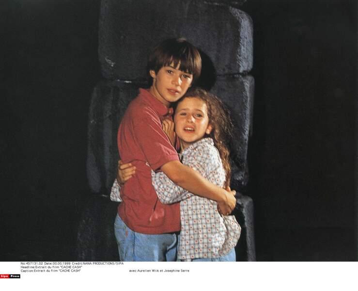 En 1994, elle joue dans Cache cash de Claude Pinoteau avec un petit garçon qui fera du chemin, Aurélien Wiik