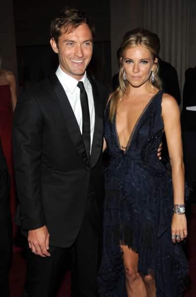 Le syndrome de la nounou, également connu par le couple Sienna Miller - Jude Law.
